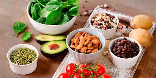 Alimentos saludables con sodio
