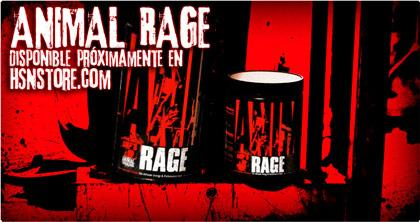 ANIMAL RAGE de UNIVERSAL NUTRITION