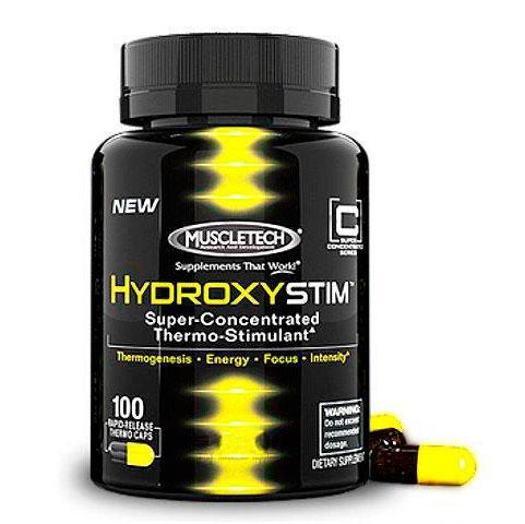 HydroxyStim de Muscletech