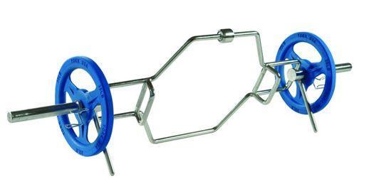 Barra Hexagonal, peso muerto sin sobrecargar la espalda, lumbares y cadera