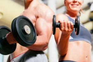 perder peso haciendo pesas