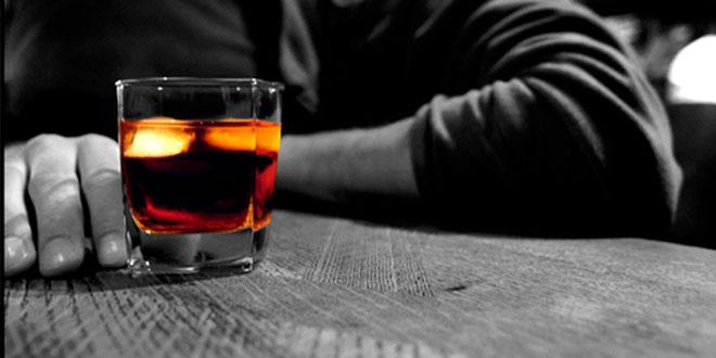 L-glutamina y alcohol