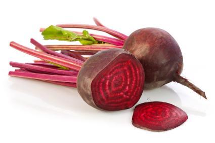 La remolacha reduce los niveles de LDL (colesterol malo)