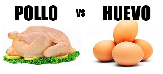 Pollo vs Huevo