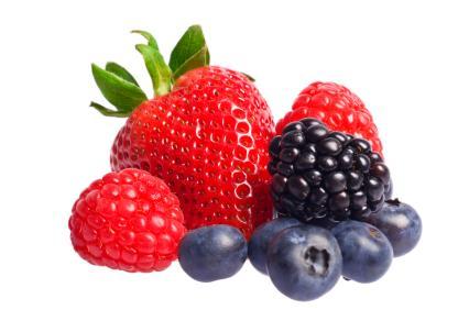 Las frutas rojas podrían retardar la pérdida de memoria