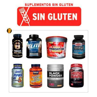 Suplementos deportivos sin gluten