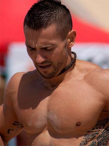 Javier Colomer Durante la prueba
