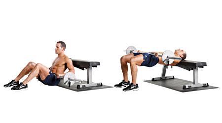 Ejercicios alternativos: Hip Thrust (V)