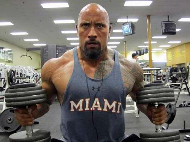 La dieta de The Rock (Dwayne Johnson)