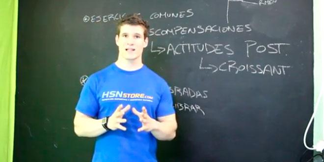 Actitudes posturales erroneas en el gimnasio