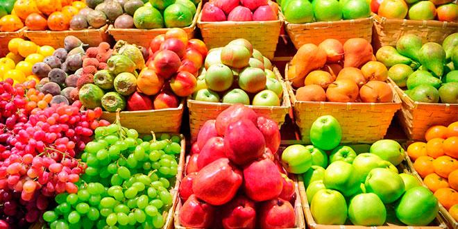 ¿Qué nos dicen los colores de las frutas y verduras?