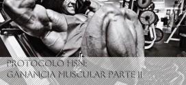 Protocolo HSN: Ganar músculo sin apenas grasa PARTE II