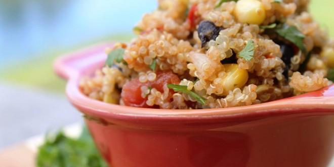 La quinoa como alimento para una dieta fitness
