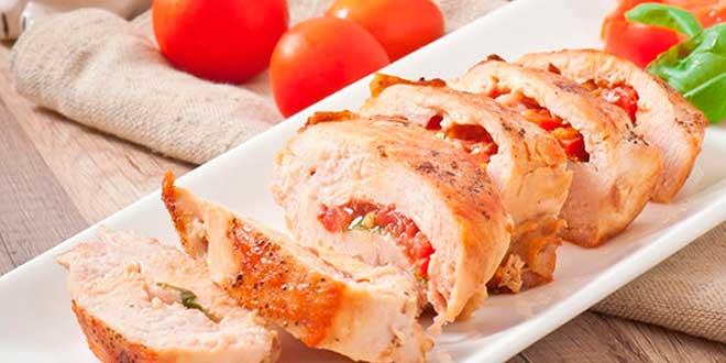Pollo con Albaricoques - Receta ListoYServido