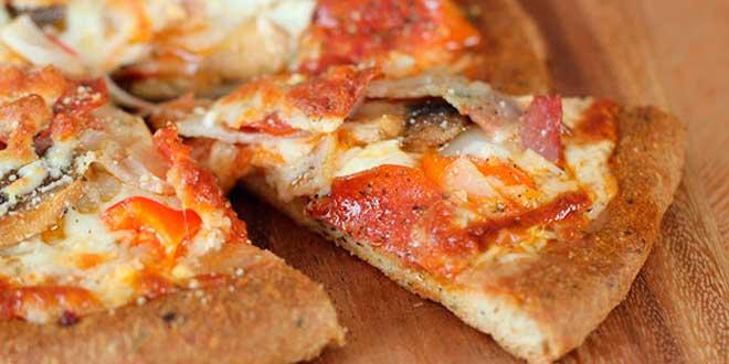 Receta pizzas proteicas muy fáciles de hacer