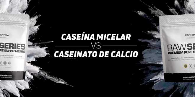 Caseína Micelar vs Caseinato de Calcio