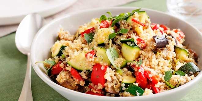 Quinoa qu es propiedades beneficios usos recetas - Cocinar quinoa con verduras ...