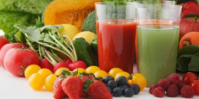 Sales minerales en frutas y verduras