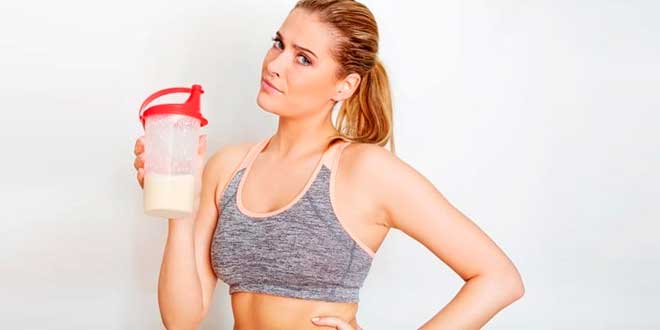 Proteína después de entrenar