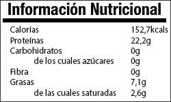 Valor Nutricional Carne de Ternera