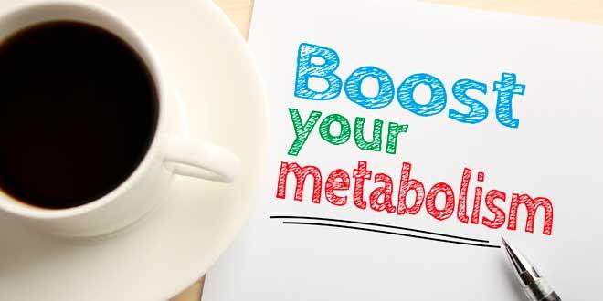 Cafeína para aumentar el metabolismo