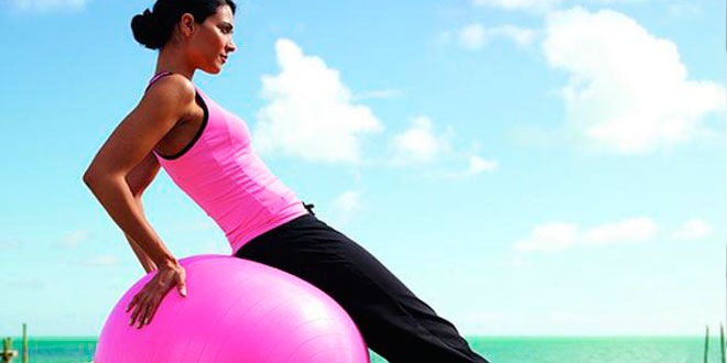 Rutina de Entrenamiento con Pelota Pilates