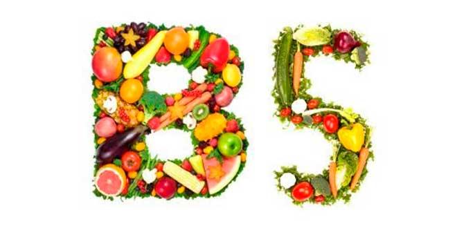 Fuentes Vitamina B5