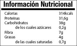 Valor Nutricional Gachas Hiperproteicas
