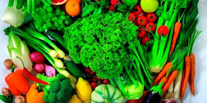 Verduras densidad nutricional