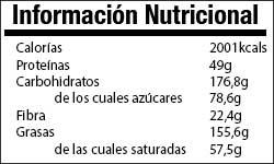 Valor Nutricional Receta Avena Horno