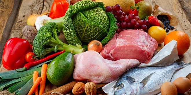 Alimentos Permitidos de la Dieta Paleo