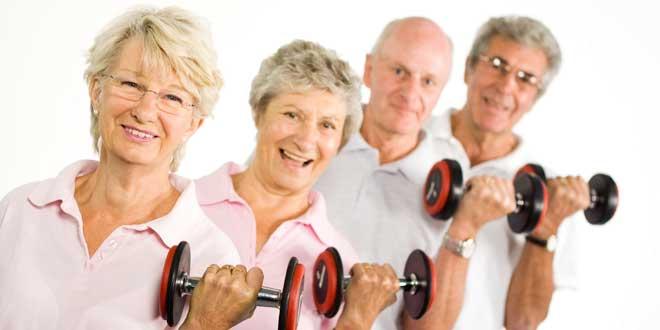 Ejercicio físico en mayores