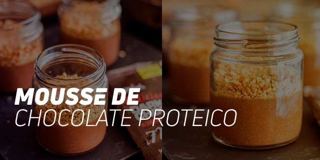 Mousse Chocolate Proteico