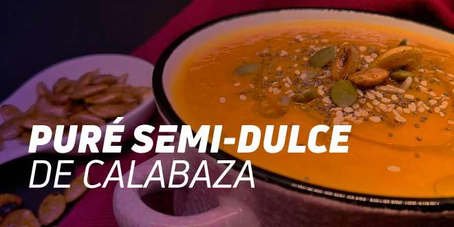 Pure Semi-Dulce de Calabaza