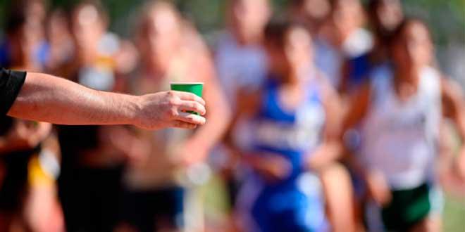 Beber despues de la carrera