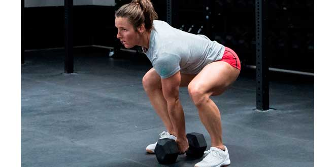 Dumbbell Power Snatch