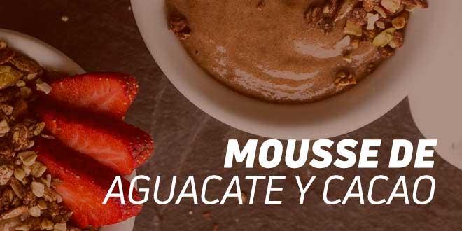 Mousse de Aguacate y Cacao