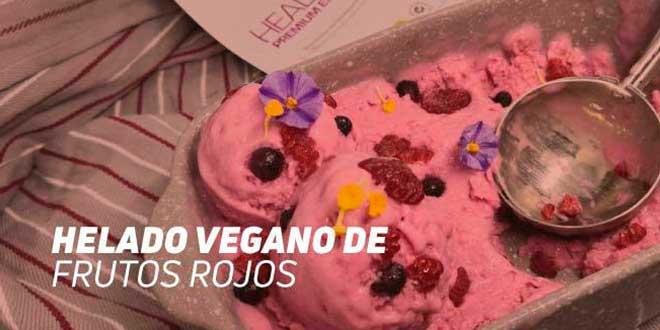 Receta Helado Vegano