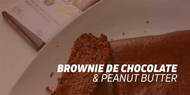 Brownie de Chocolate Peanut Butter