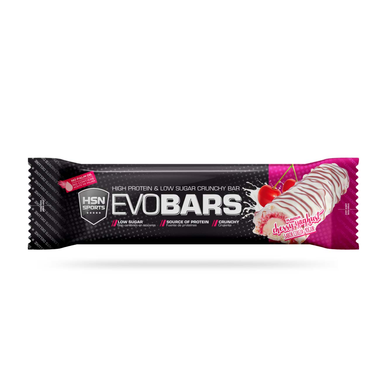EVOBARS (PROTEIN BAR) 60g CEREZA-YOGUR