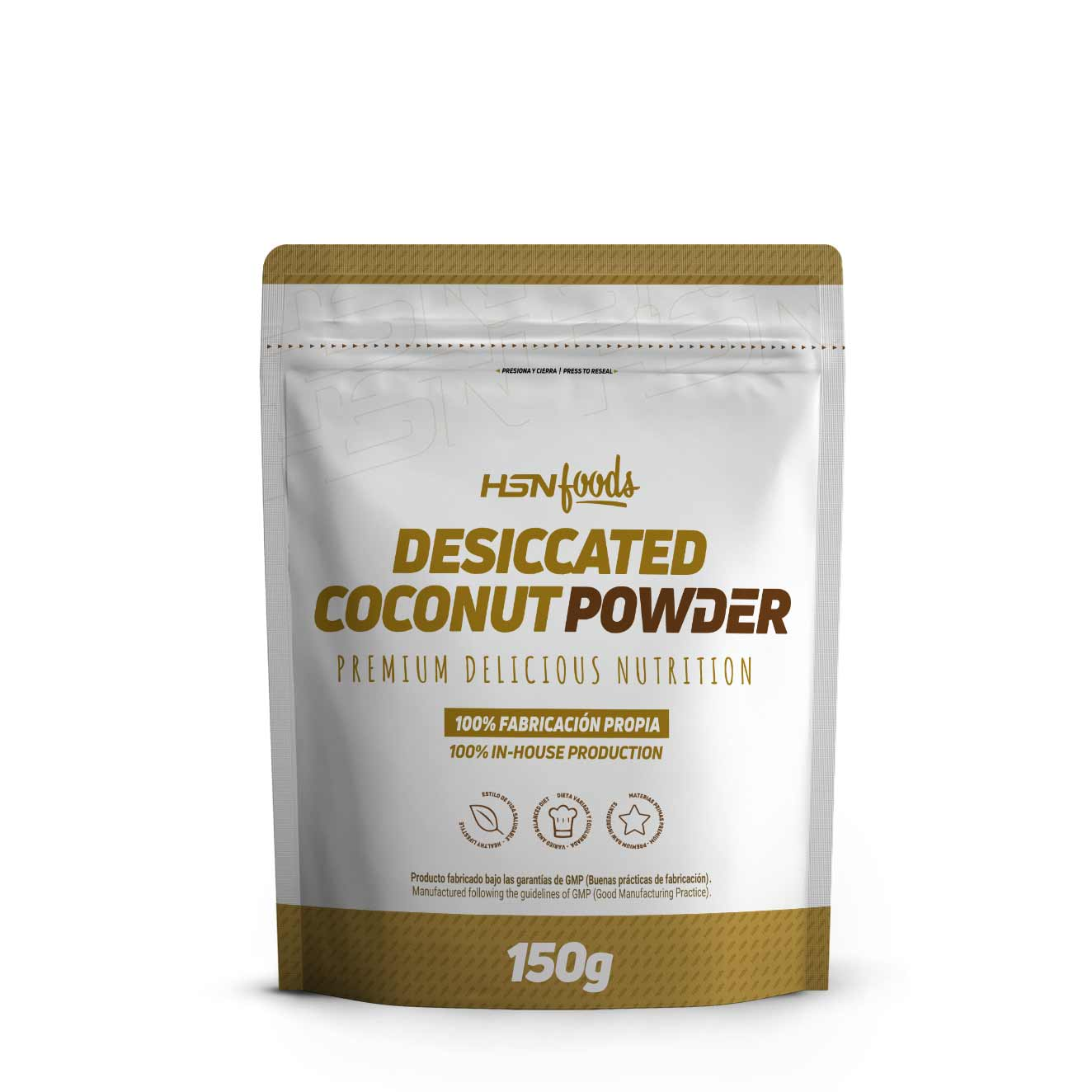 DESICCATED COCONUT POWDER 150g