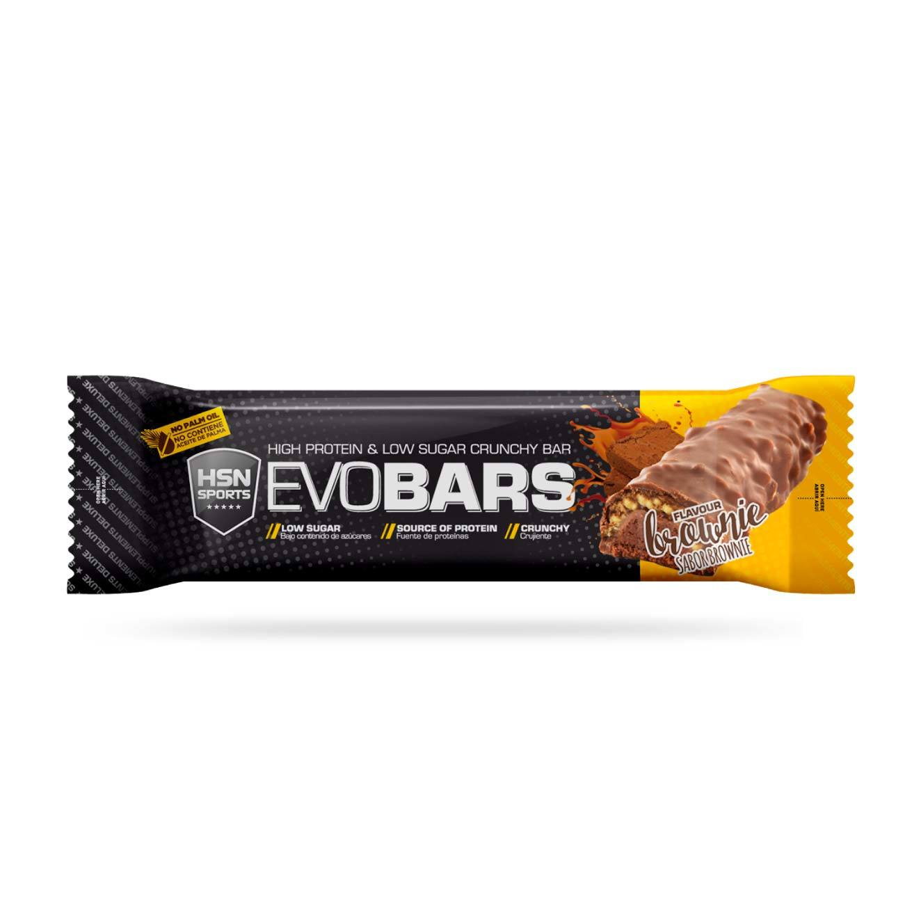EVOBARS (PROTEIN BAR) 60g BROWNIE