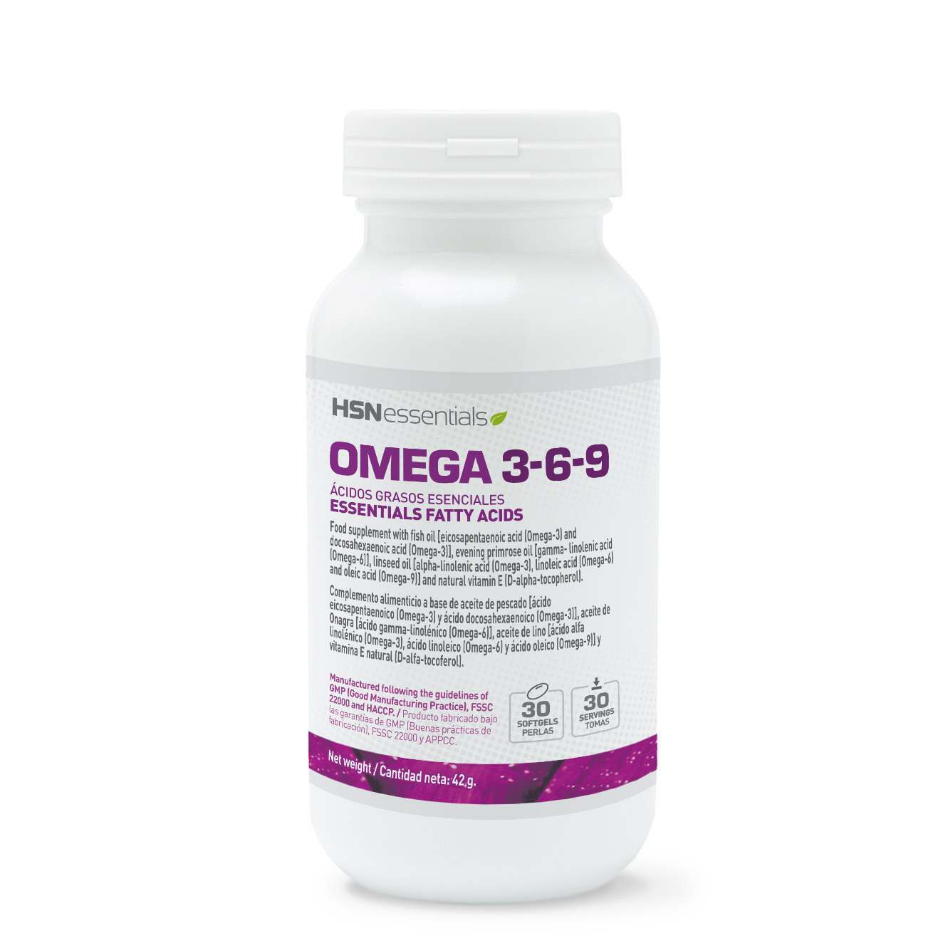OMEGA 3-6-9 - 30 softgels