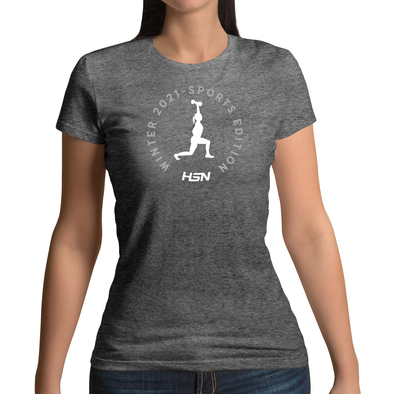 CAMISETA CHICA WINTER 2021 SPORTS EDITION FITNESS GRIS - M