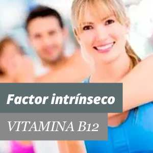 Vitamina B12 factor intrínseco